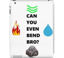 Bend it bro! iPad Case/Skin