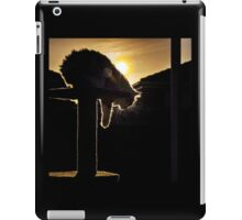 backlit zig iPad Case/Skin