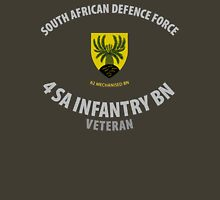 SADF 4 SA Infantry Battalion (62 Mech Bn) Veteran  Unisex T-Shirt