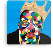 Biggie Smalls Metal Print