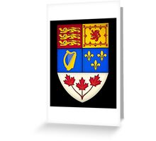 Canada Coat Of Arms Greeting Card
