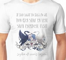 Sophie Of Woods Beyond Quote Unisex T-Shirt