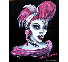 Molly Vampire Photographic Print