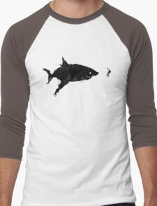 Drifting Away Slowly Men's Baseball ¾ T-Shirt