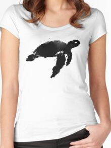 The Sea Turtle Women's Fitted Scoop T-Shirt