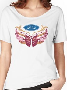 Cares Breast Cancer Women's Relaxed Fit T-Shirt