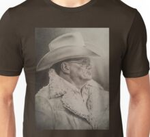 Bum Phillips Portrait Unisex T-Shirt