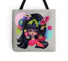 Retro fashion mod girl Tote Bag