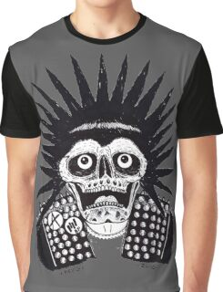 PUNK SPIKES Graphic T-Shirt