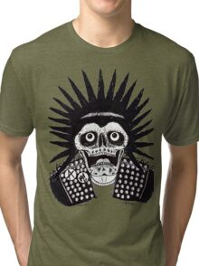 PUNK SPIKES Tri-blend T-Shirt