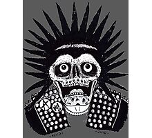 PUNK SPIKES Photographic Print