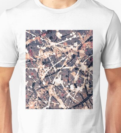 Abstract expressionism pattern 1 Unisex T-Shirt
