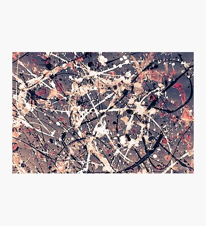 Abstract expressionism pattern 1 Photographic Print