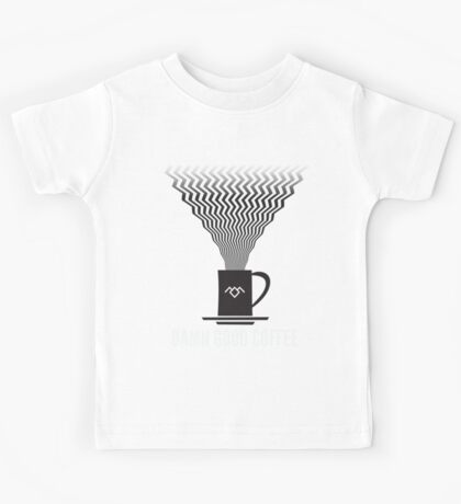 Twin Peaks - Damn Good Coffee Kids Tee