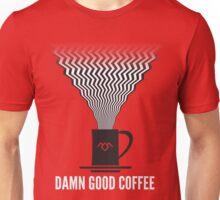Twin Peaks - Damn Good Coffee Unisex T-Shirt