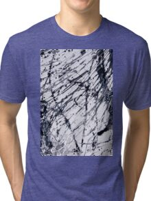 Abstract expressionism pattern 2 Tri-blend T-Shirt