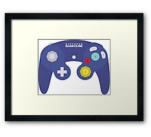Gamecube Controller Design Framed Print