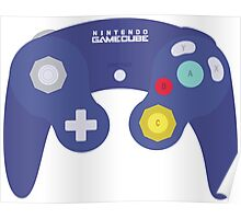 Gamecube Controller Design Poster