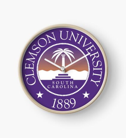 clemson university south carolina Clock