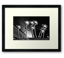 Solar Trees in the Wind Framed Print