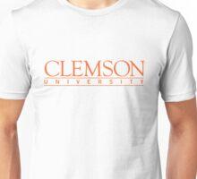 clemson university text Unisex T-Shirt