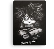 Little Jimmy Canvas Print