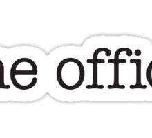 the office logo Sticker