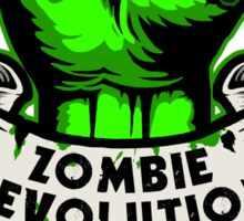 Zombie Revolution! -green- Sticker