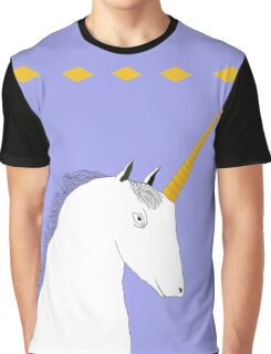 Skeptical Unicorn  Graphic T-Shirt