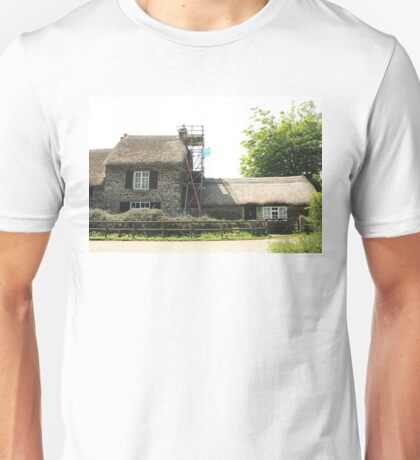 Re-thatching the Roof Unisex T-Shirt
