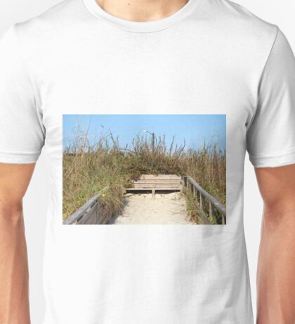 Beach Bench Unisex T-Shirt