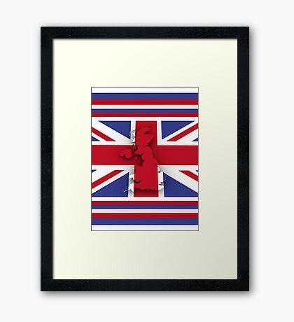 GREAT BRITAIN 3 Framed Print