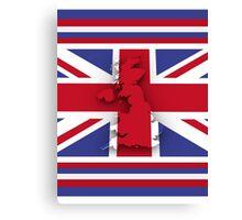 GREAT BRITAIN 3 Canvas Print