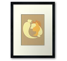 Emblem of Harmony - Applejack Framed Print
