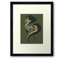 Hour of Twilight - Wolf Link Framed Print