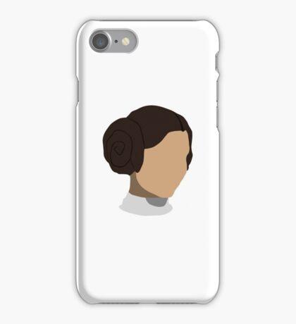 Princess Leia Head iPhone Case/Skin
