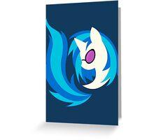 Emblem of Harmony - Vinyl Scratch (DJ Pon3) Greeting Card