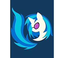 Emblem of Harmony - Vinyl Scratch (DJ Pon3) Photographic Print