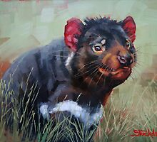 Tasmanian Devil by Margaret Stockdale