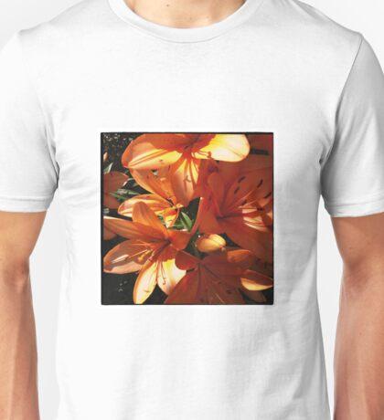 Lilies in Sunlight Unisex T-Shirt