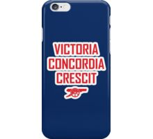 Victory Comes From Harmony iPhone Case/Skin