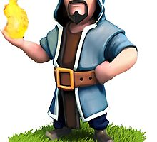 Clash of Clans Wizard by Jungyoomi