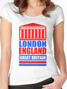 LONDON-ROYAL EXCHANGE 2 Women's Fitted Scoop T-Shirt