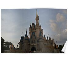 More Disney Castle Poster