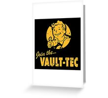 Join the Vault-Tec / Fallout Greeting Card