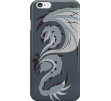 Reign of Heavens - Silver Rathalos iPhone Case/Skin