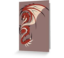 Reign of Heavens - Rathalos Greeting Card