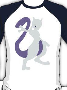 Smashing Mewtwo Vector T-Shirt