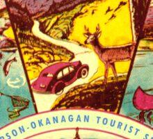 BC Thompson Okanagan  Sticker