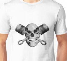 Mechanic Skull Unisex T-Shirt